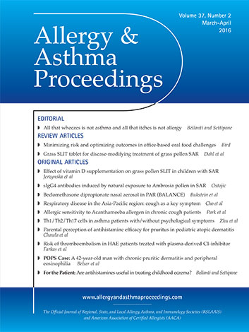 Allergy & Asthma Proceedings